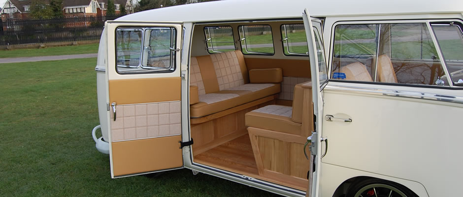 Classic VW Camper Van Bed Split
